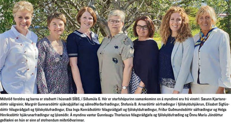 Starfsmenn Miðstöðvar foreldra og barna