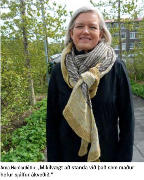 Arna Harðardóttir mynd 3