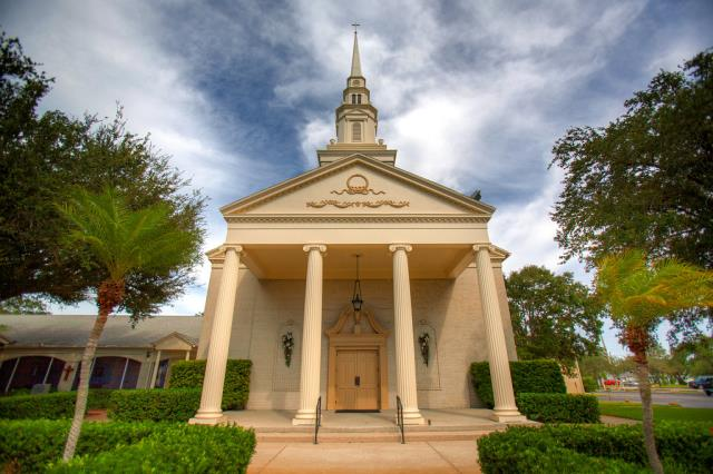 Bradenton, FL - Keeping God's House Cool and Properly Maintained at Palma Sola Presbyterian Church.