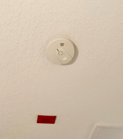 Longboat Key, FL - Installed smoke alarm, outside sensor light, and ran new wire for receptacle in bedroom and pool areas in beautiful Longboat Key, Florida. Anthony's Cooling-Heating-Electrical Electricians are the Best around!