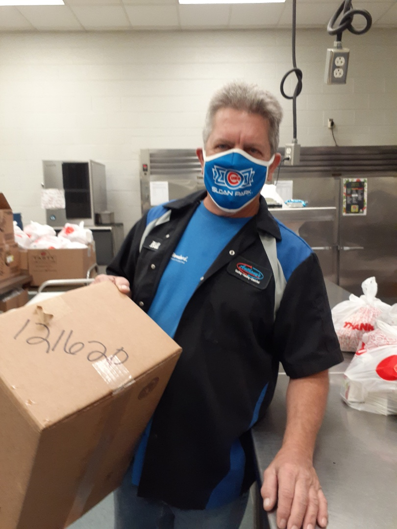 Palmetto, FL - Anthony's Spreads LOVE this Christmas!  Thank you Bill for volunteering on behalf of Anthonys Cooling-Heating-Electrical at Lincoln School for Manatee Nutritional Services.  He helped make 325 bagged meals for local families in need.  Wishing Everyone Holiday Blessings!