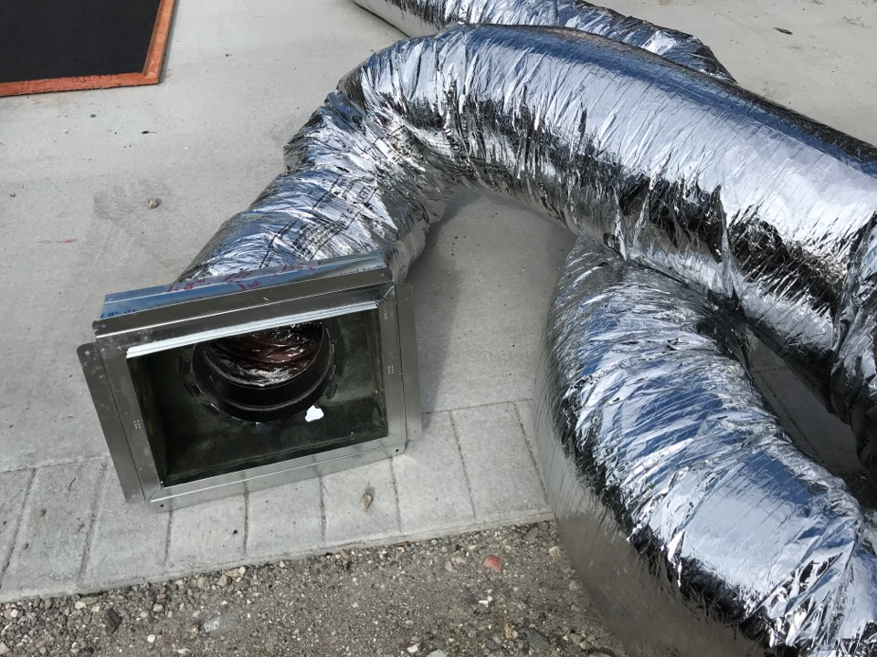 Anna Maria, FL - One of Anthony's Cooling-Heating-Electrical coolest customers in Anna Maria, Florida needed better air flow in their air ducts.  We love our job and take immense pride in our work!