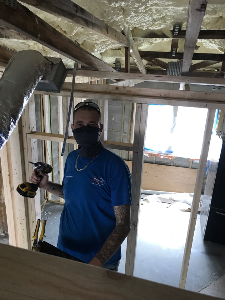 Holmes Beach, FL - All new duct work install loving life