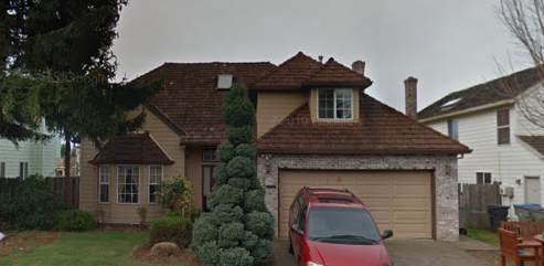 Beaverton, OR - Free quote on this Beaverton roofing project to remove a wood shake to install GAF Timberline HD Architectural Shingles.