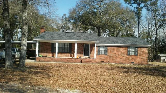 Hephzibah, GA - Take a look at this beautiful new roof our crew installed on this home! Color is GAF Charcoal HDZ.
