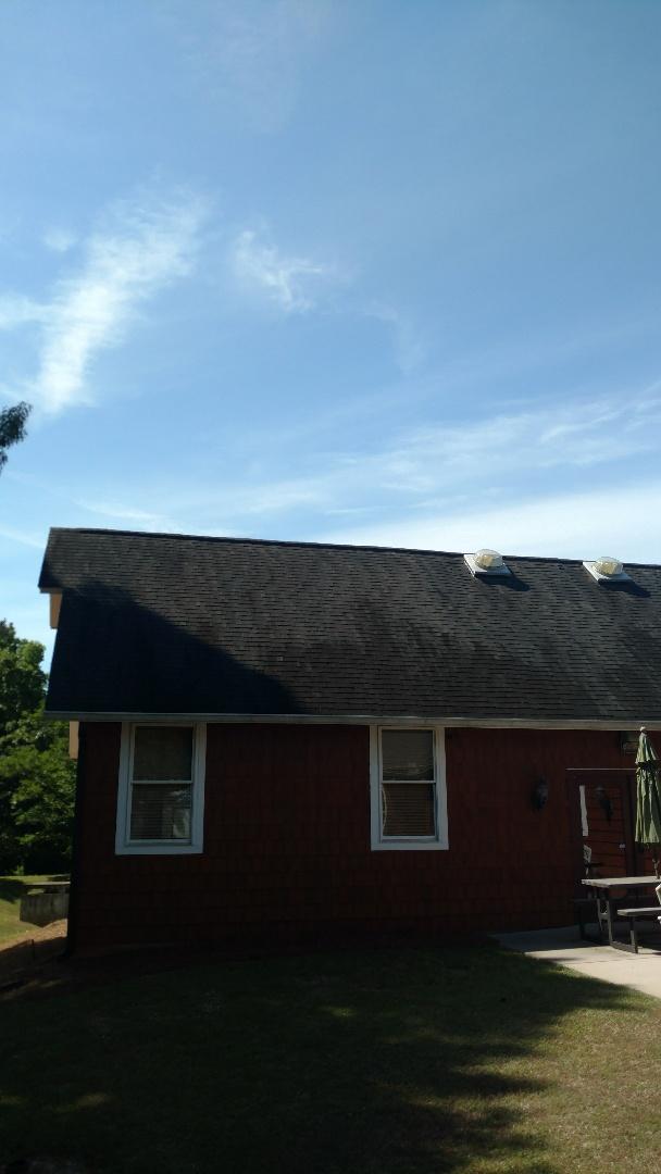 Evans, GA - Hey here looking at a roof leak.