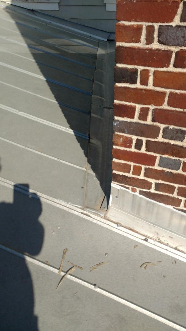 Evans, GA - Hey here looking at a chimney leak.