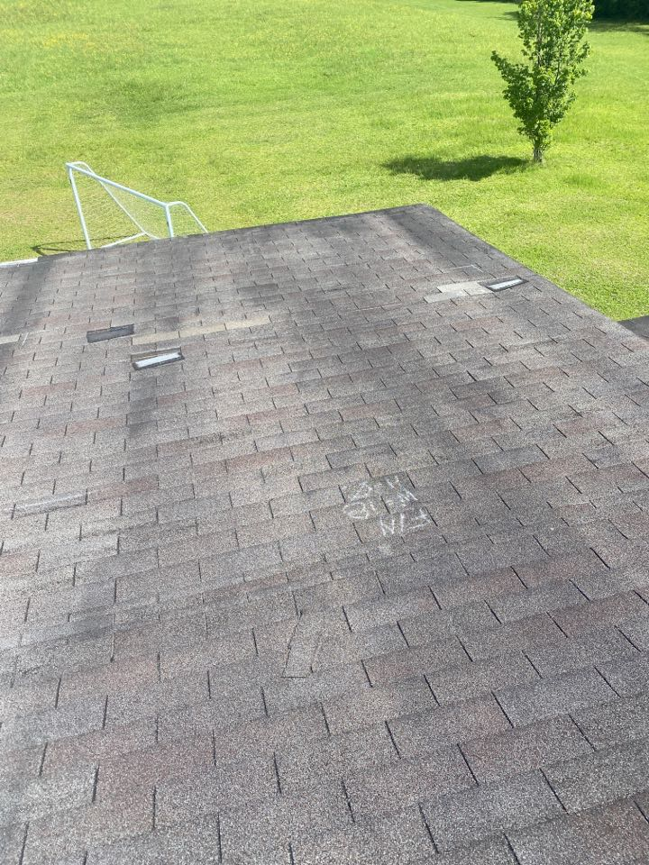 Warrenville, SC - Working on a roof inspection