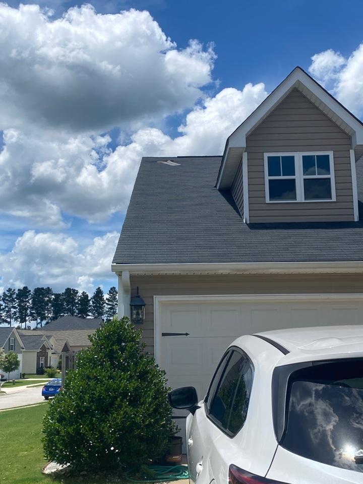 Grovetown, GA - Doing an estimate for some missing shingles