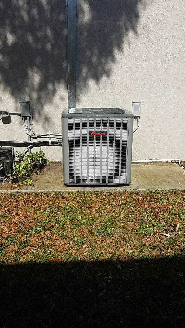 Palatka, FL - Tune up Amana split heat pump system