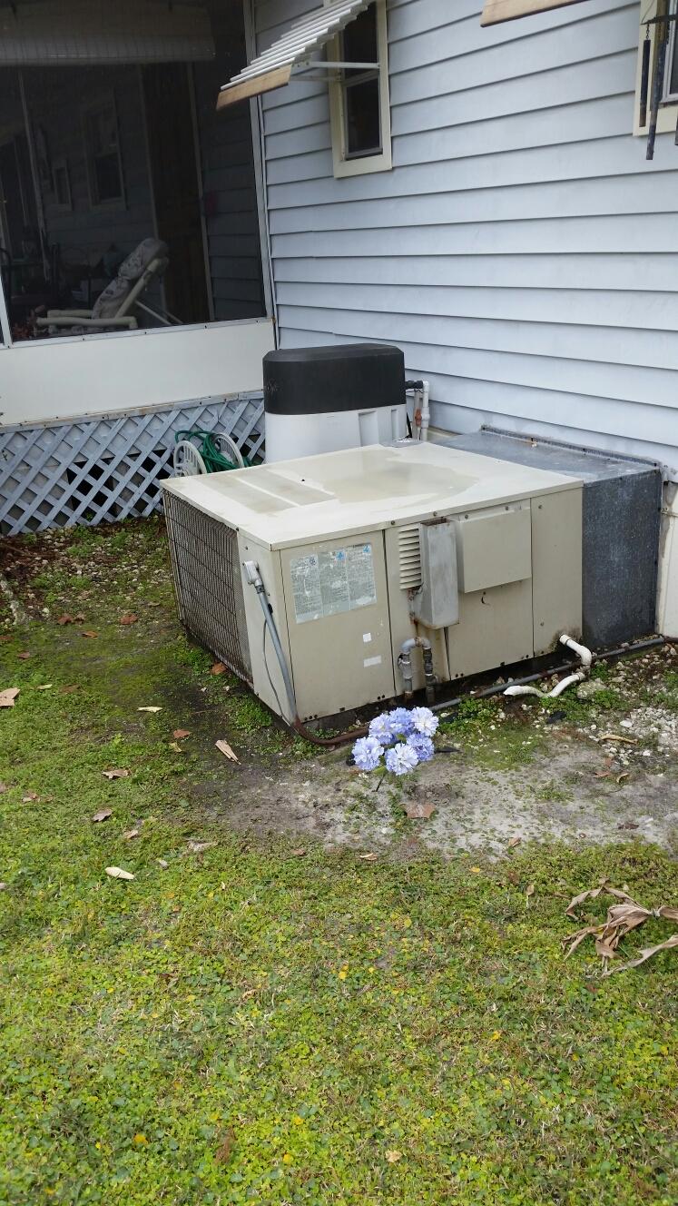Welaka, FL - Maintenance on Lennox gas furnace