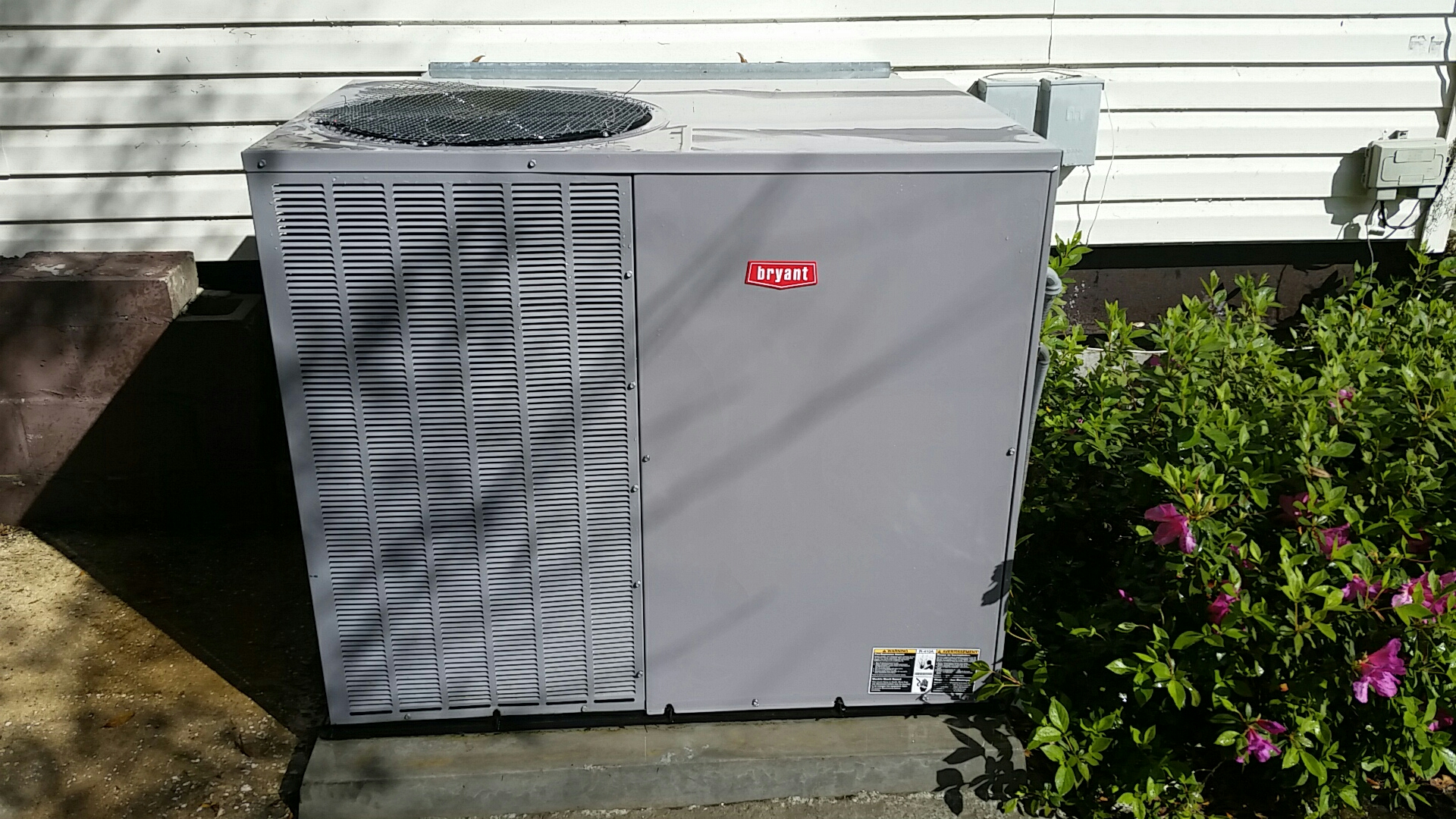 Green Cove Springs, FL - Tune up bryant package heatpump system