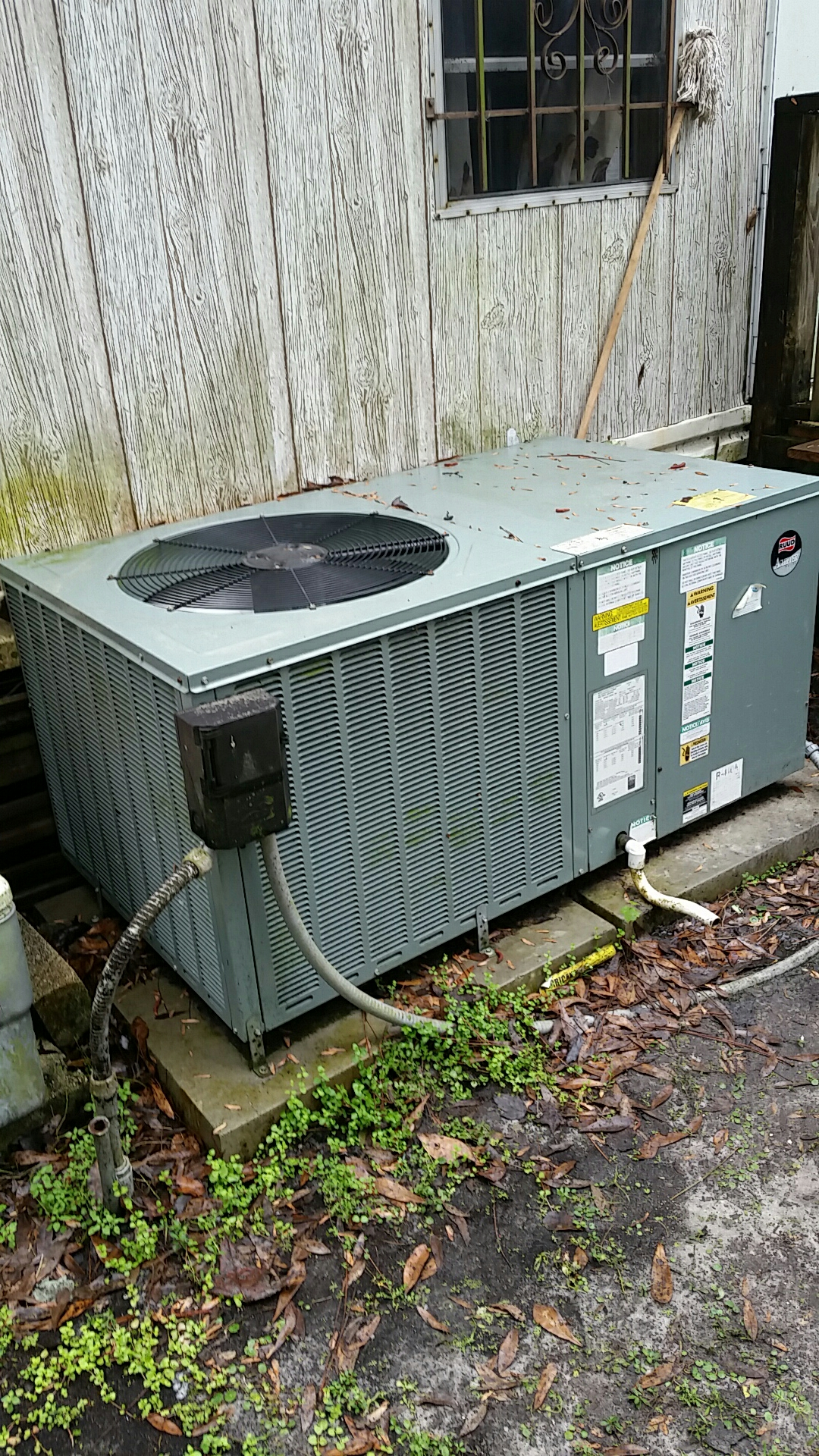 Elkton, FL - Service on Ruud heat pump