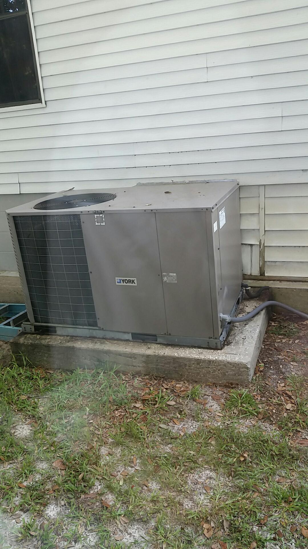 Florahome, FL - Service on York heat pump