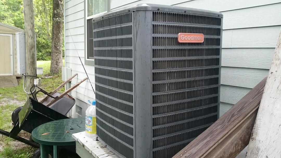 Florahome, FL - Tune up goodman split heatpump system