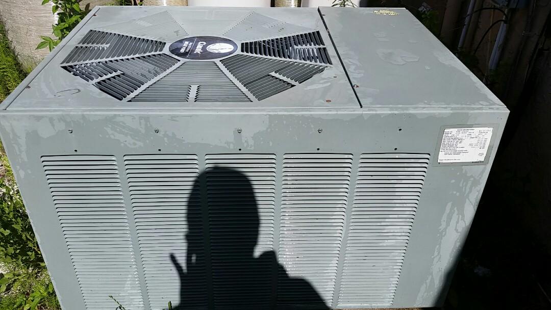 Pomona Park, FL - Heat pump cool mode tune up maintenance on a rheem split systems