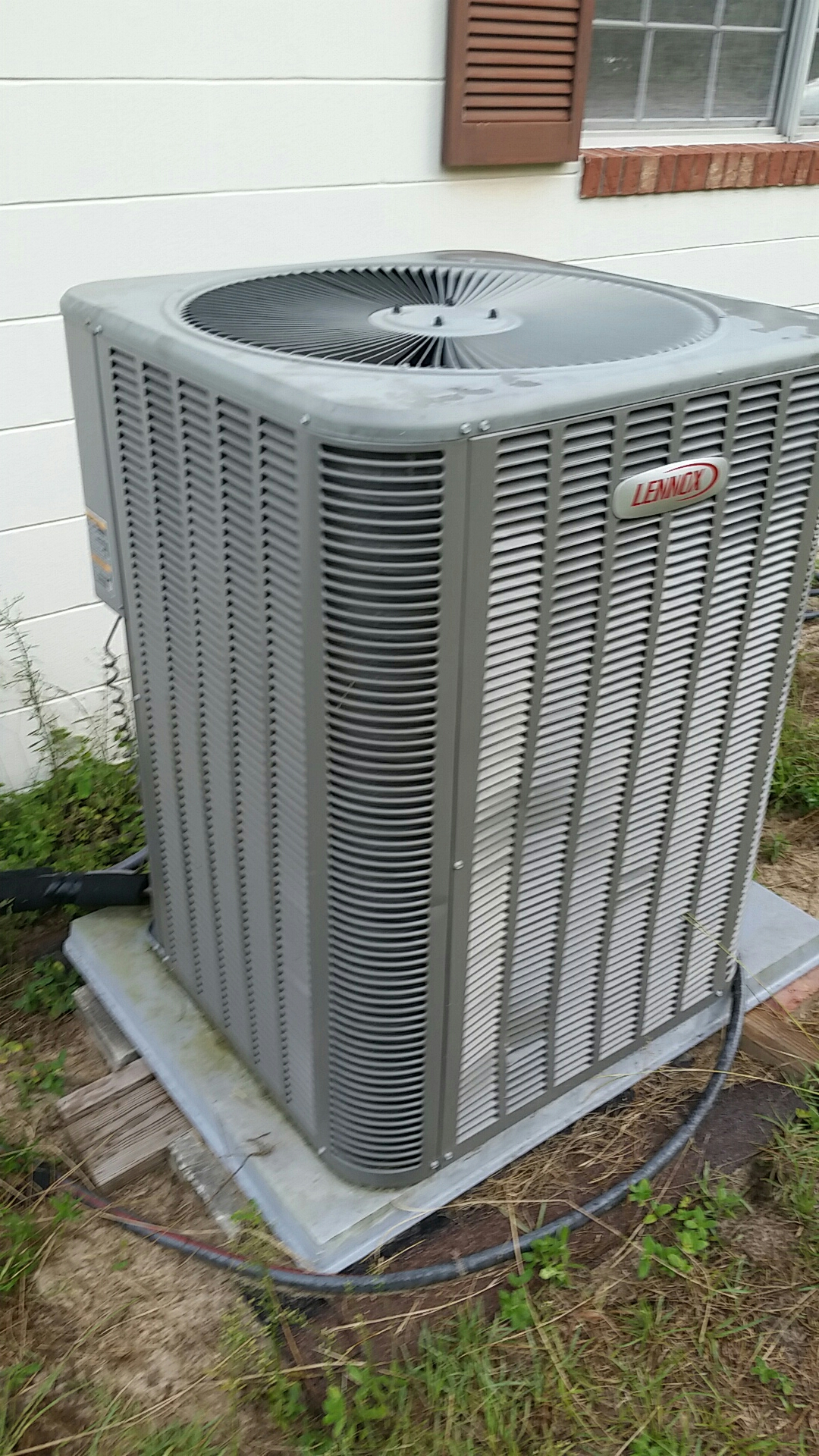 Melrose, FL - Service on Lennox heat pump