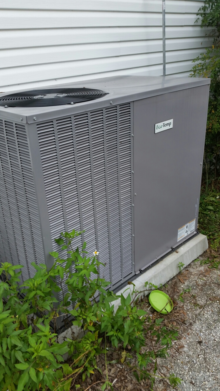 Melrose, FL - Service on eco temp heat pump