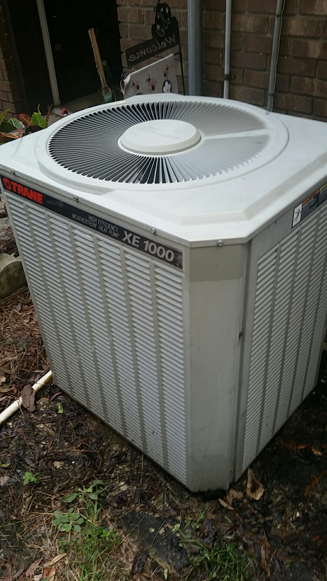 Elkton, FL - Service on Trane heat pump