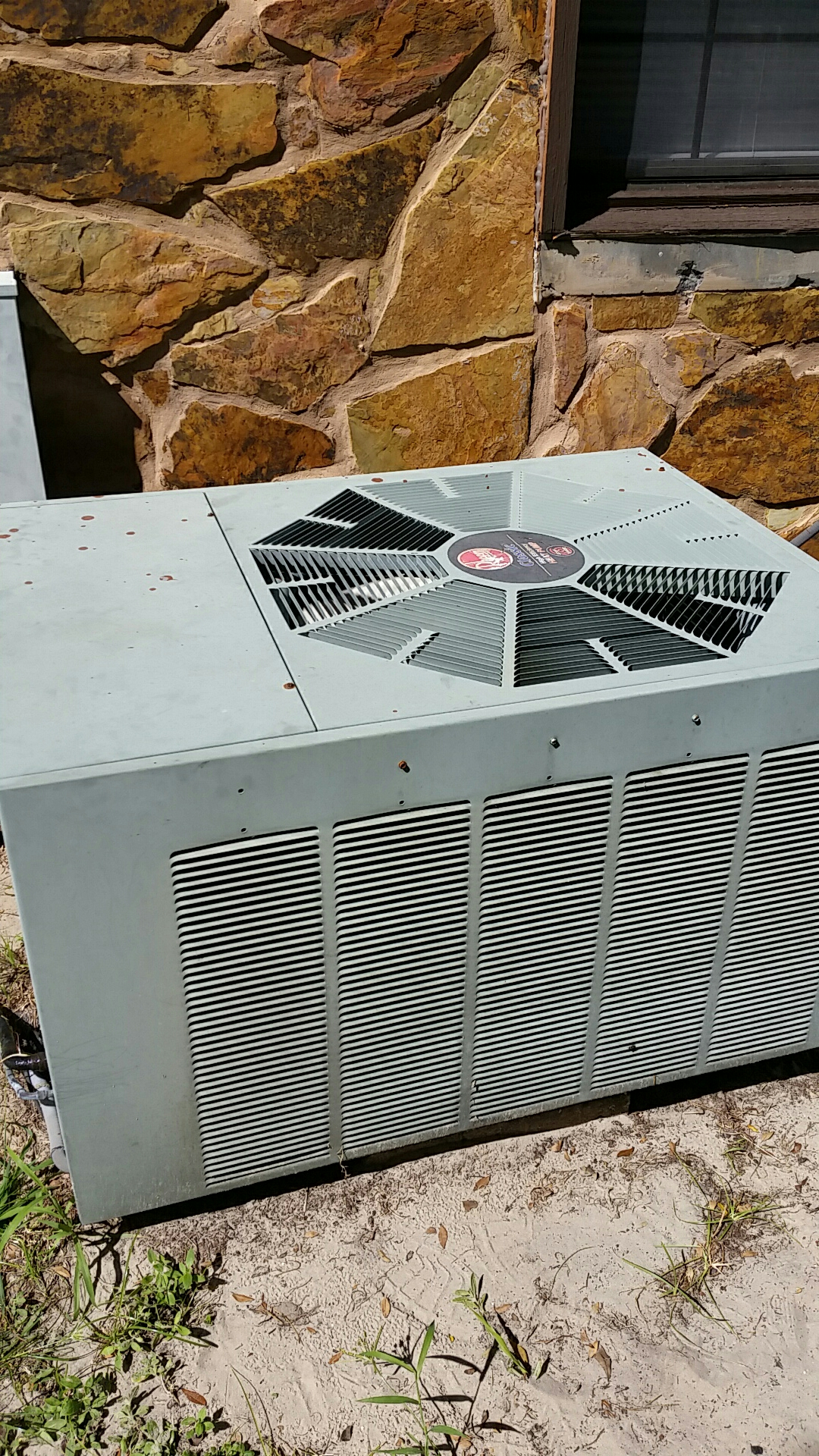 Pomona Park, FL - Service call on Rheem split heat pump system