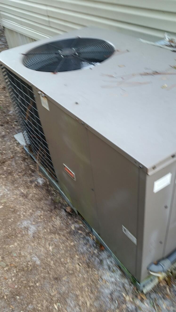Hawthorne, FL - Service on Coleman heat pump