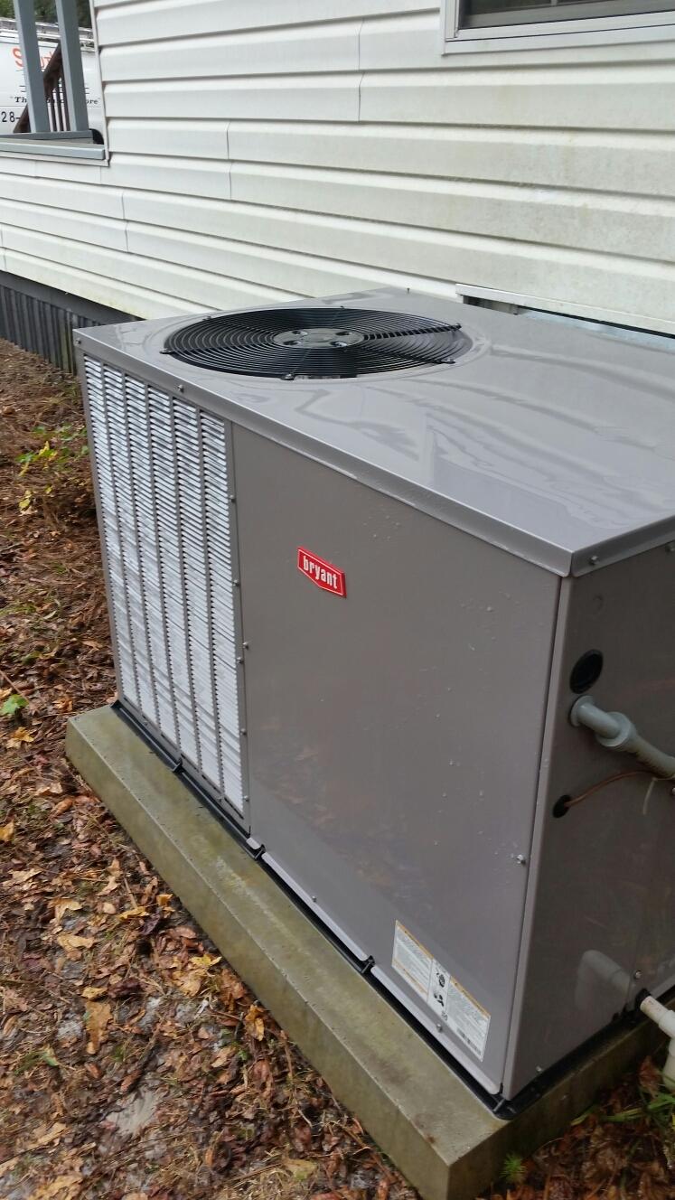 Florahome, FL - Maintenance on Bryant heat pump