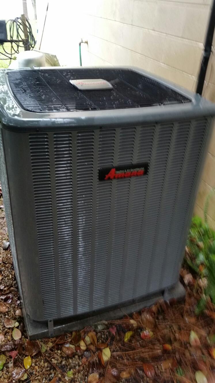 Pomona Park, FL - Maintenance on Amana Heat Pump