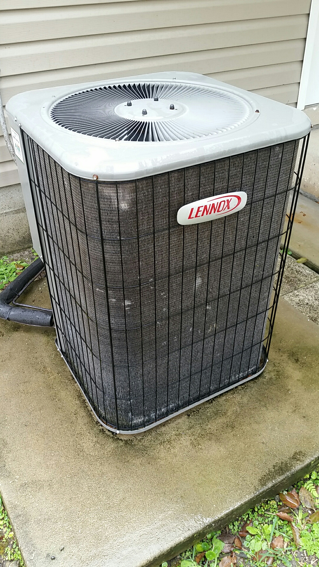Hastings, FL - Maintenance on Lennox split heat pump system