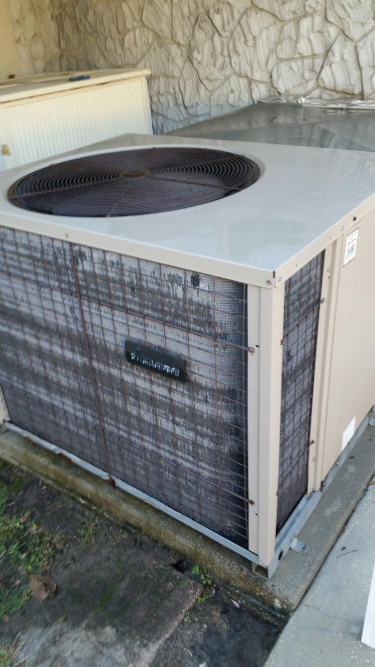 Satsuma, FL - Maintenance on Amana Heat Pump