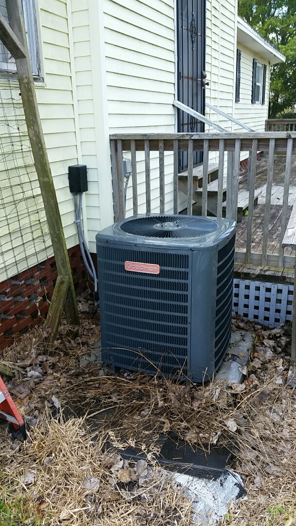 Hastings, FL - Tune up goodman split heatpump system