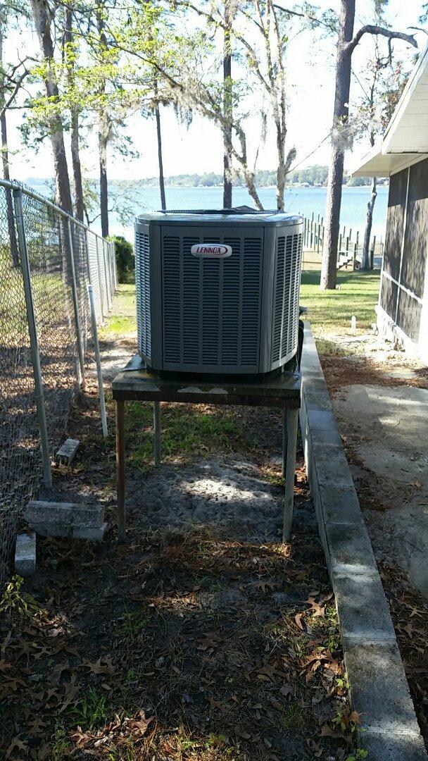 Pomona Park, FL - Tune up lennox heatpump system