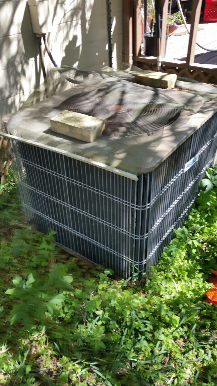 Florahome, FL - Service on Armstrong heat pump
