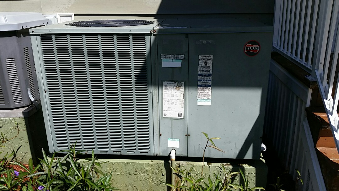 Crescent City, FL - Tune up ruud package heatpump system