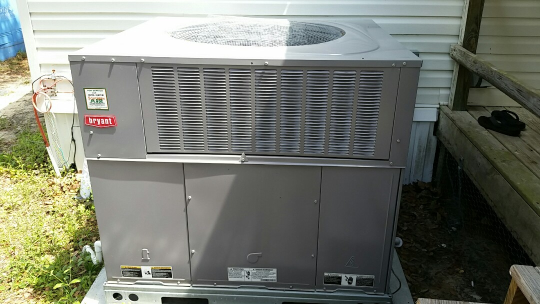 Florahome, FL - Service call bryant package heatpump system