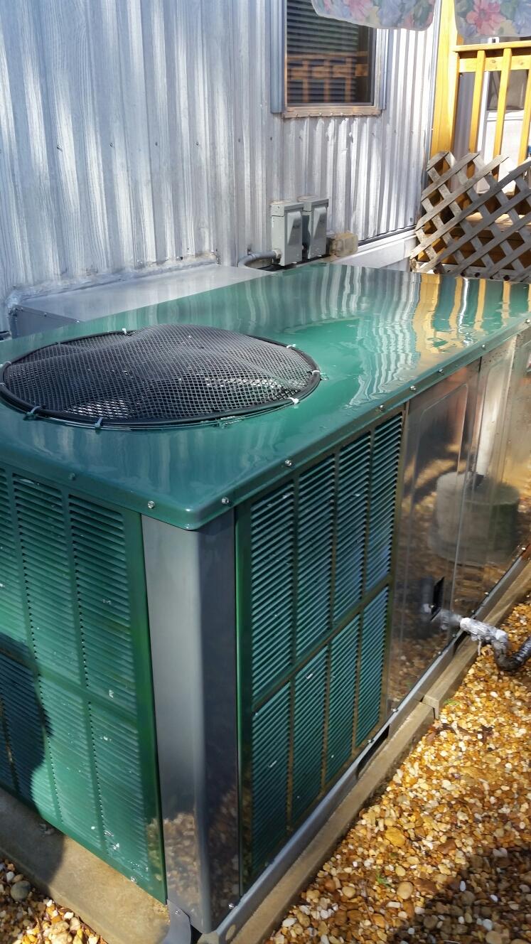 Palatka, FL - Maintenance on Goodman heat pump