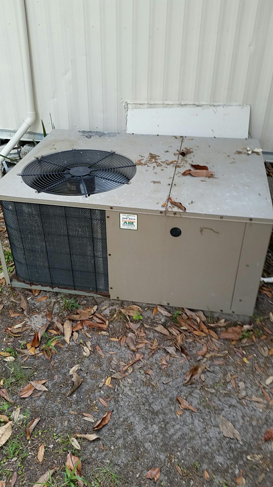 Interlachen, FL - Service on nordyne  heat pump