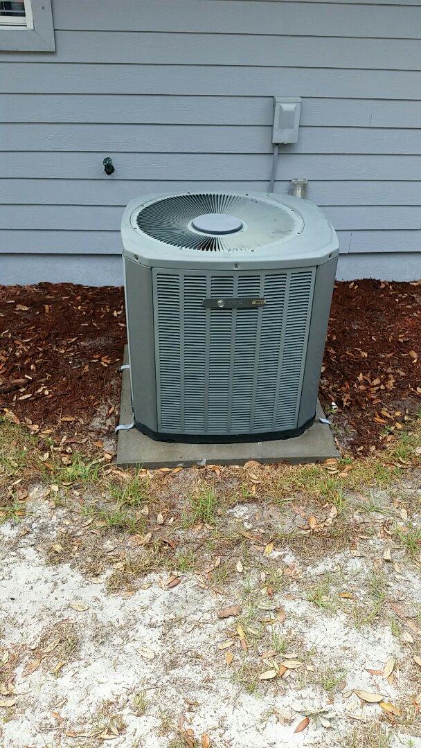 Palatka, FL - Tune up trane split heatpump system
