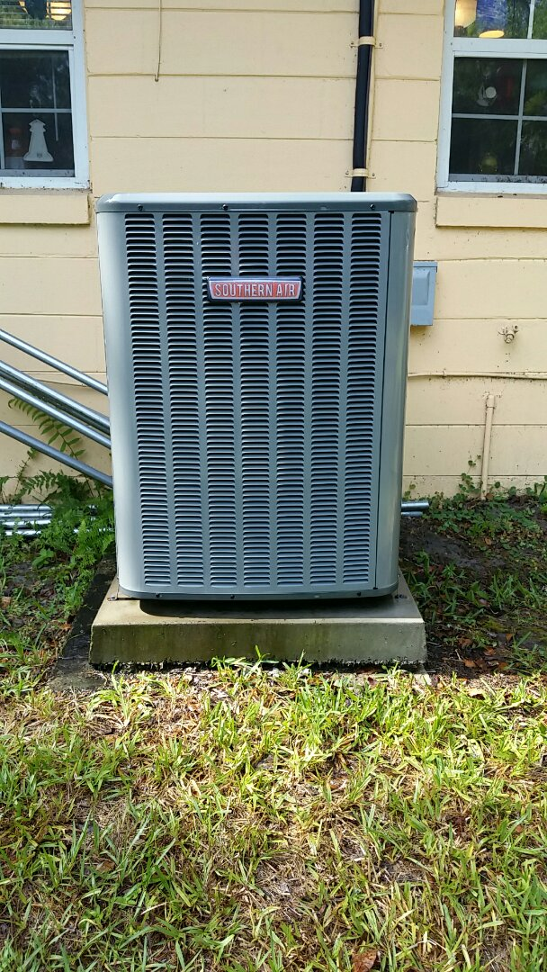 Hastings, FL - Tune up southern air heatpump system