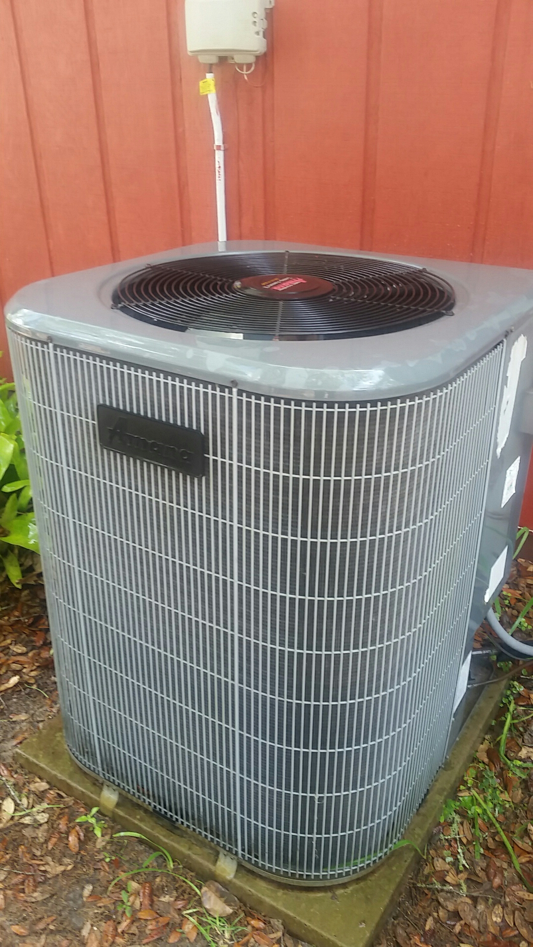 Interlachen, FL - Maintenance on Amana split heat pump system