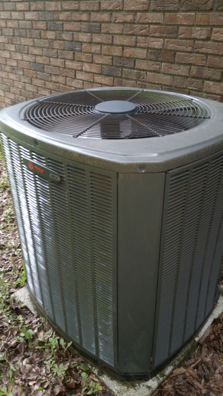 Melrose, FL - Service on Trane heat pump