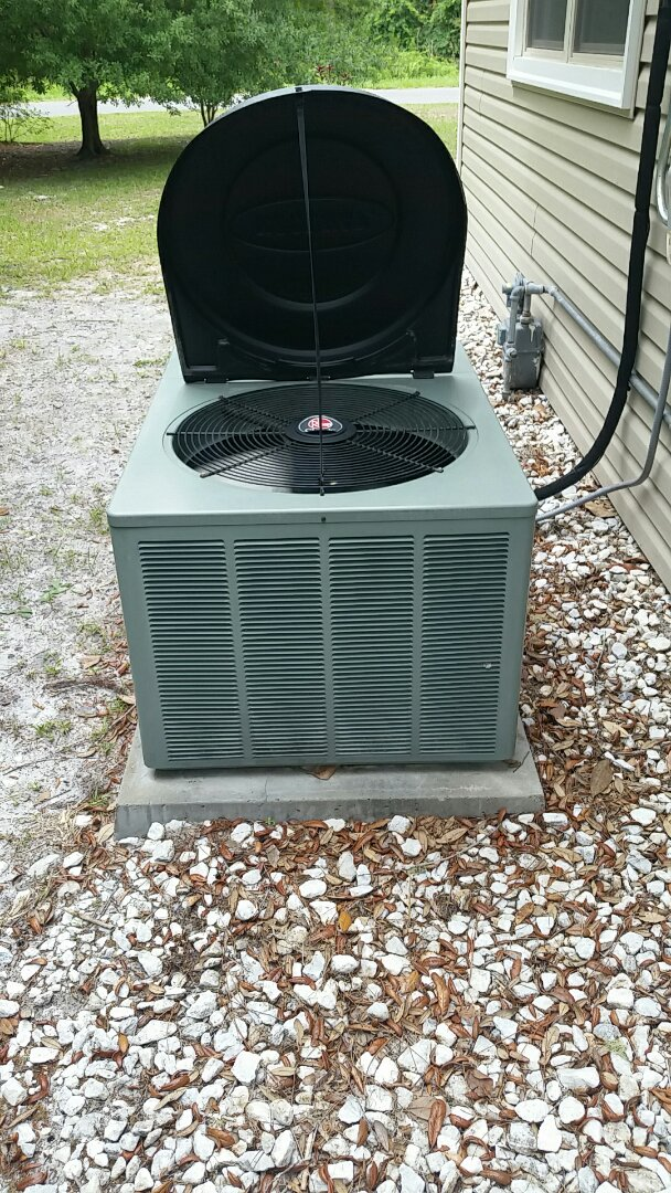 Satsuma, FL - Tune up rheem split heatpump system