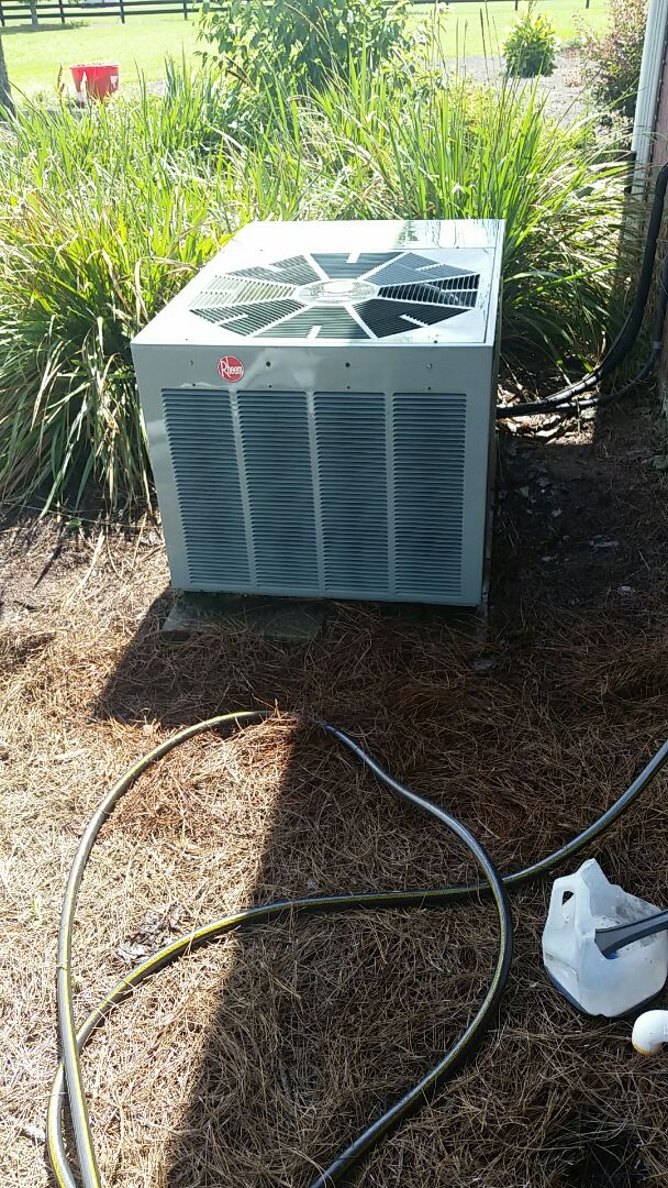 Melrose, FL - Tune up rheem split heatpump system