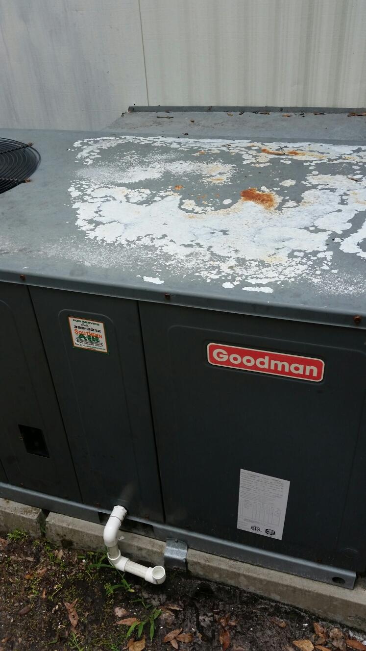 Florahome, FL - Service on Goodman