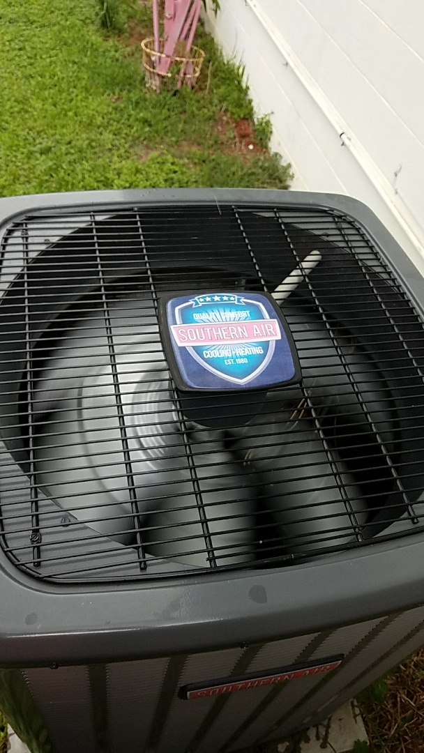 San Mateo, FL - Tune up southern air system