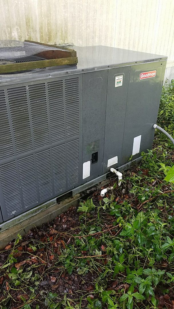 San Mateo, FL - Tune up Goodman package heat pump system