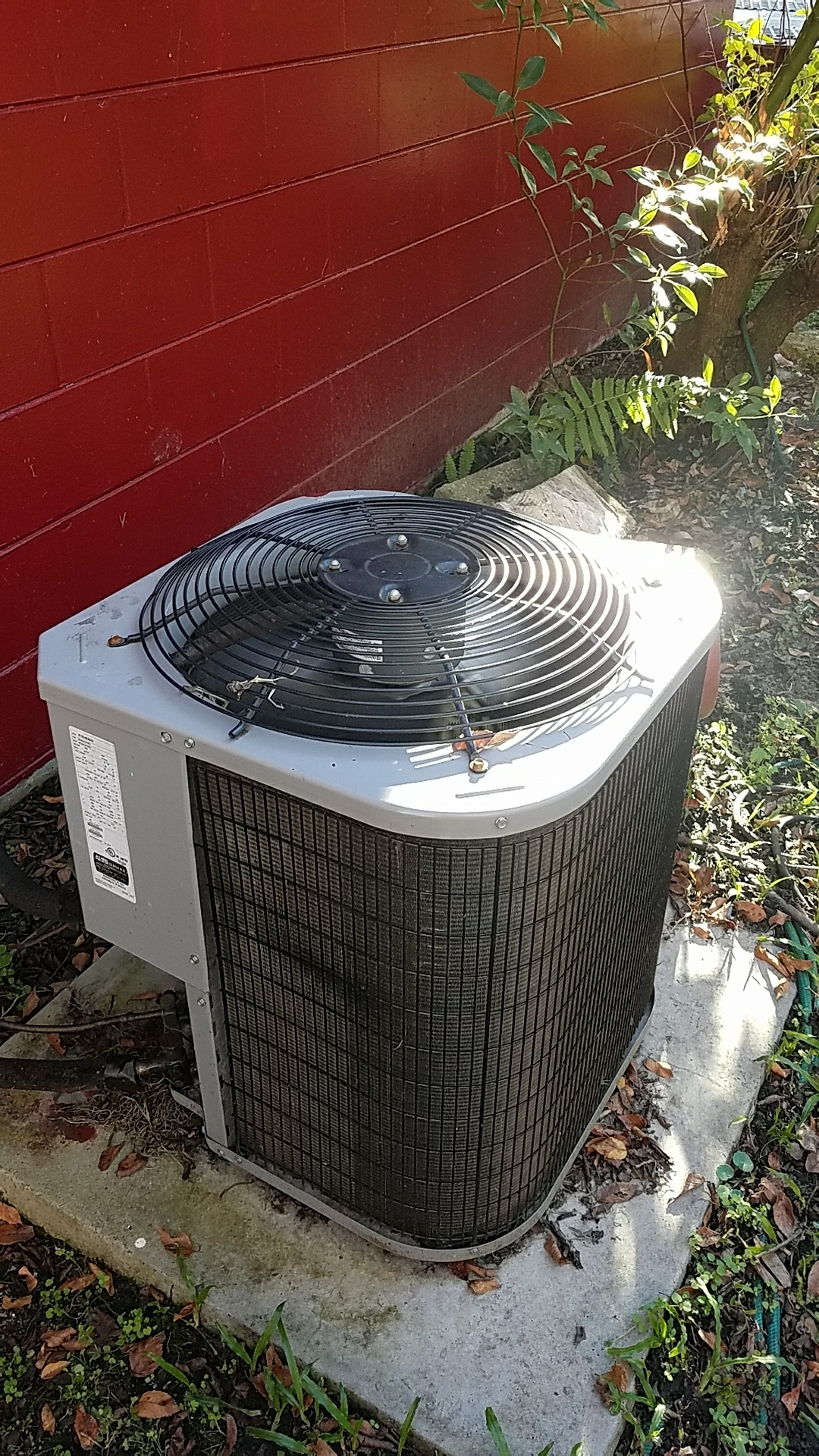 Hastings, FL - Service call on Carrier split heat pump system