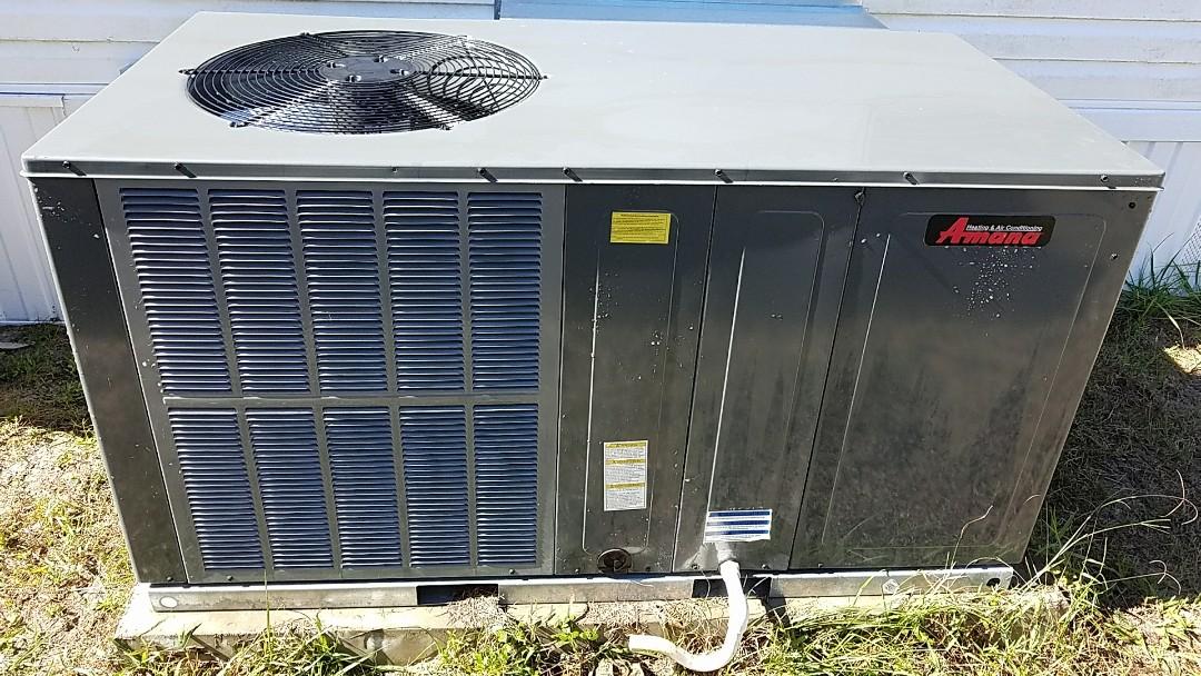 Pomona Park, FL - Tune up Amana package heat pump system
