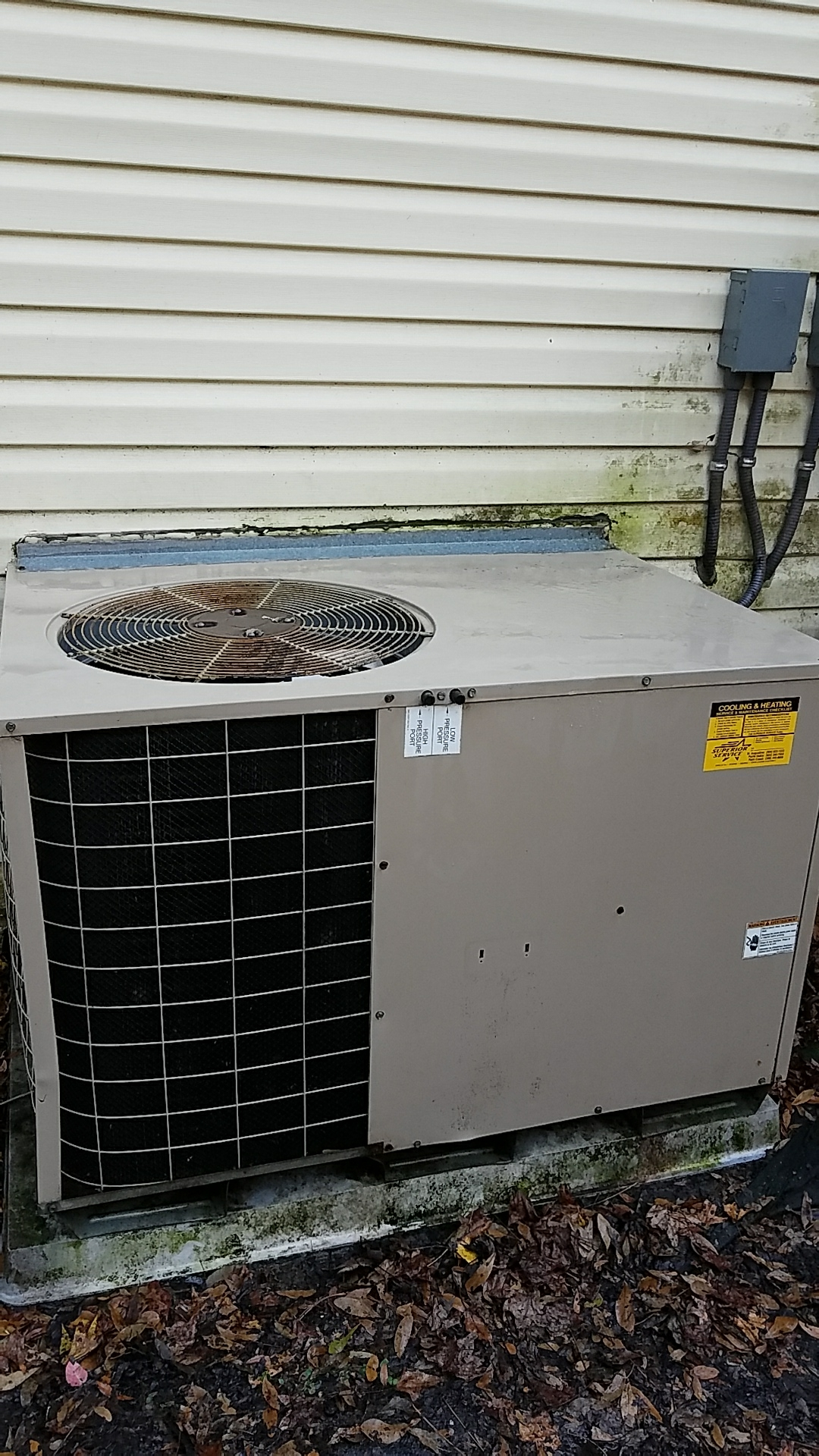 Hastings, FL - Maintenance on Coleman package heat pump system