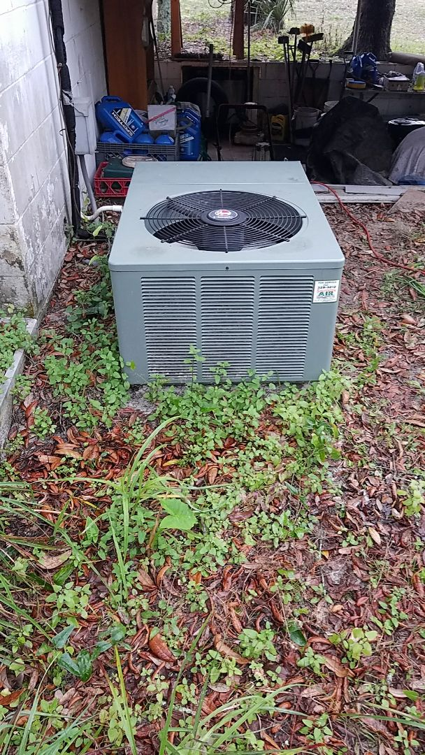 Satsuma, FL - Tune up rheem split heat pump system