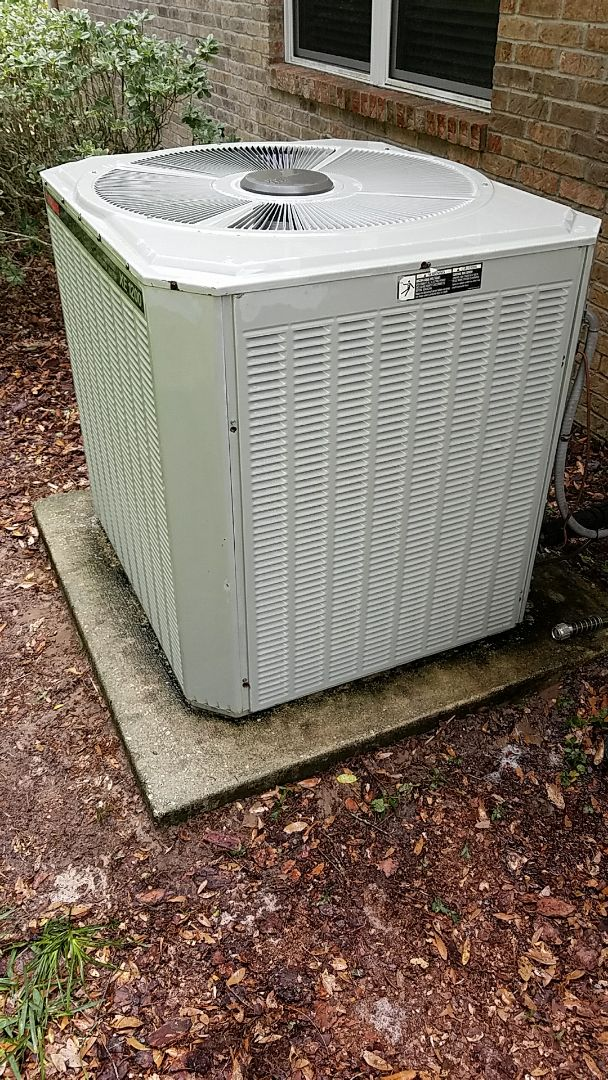 Satsuma, FL - Tune up trane split heat pump system